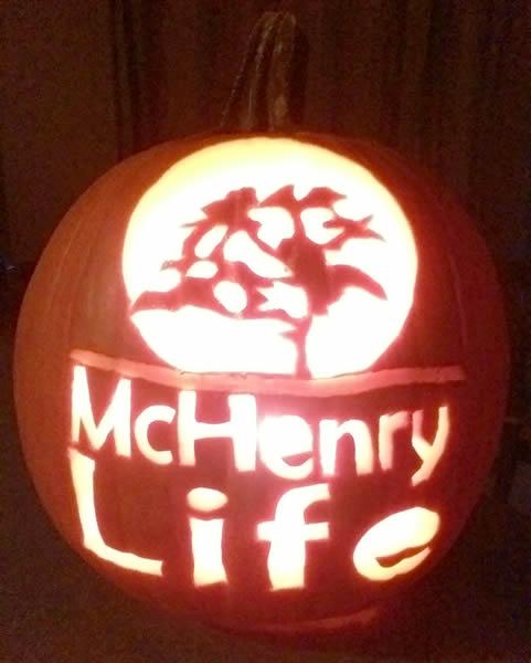 McHenry Life logo Jack-o'-Lantern