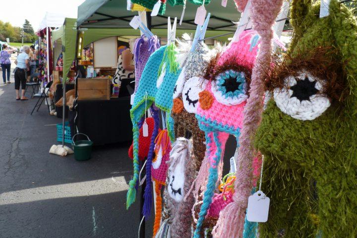 Eileen's Crochet Hats at Johnny Appleseed Festival