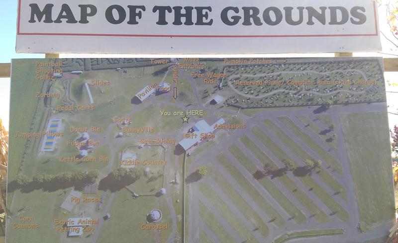 Richardson Farm map