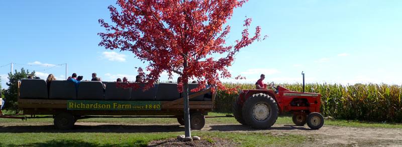 Richardson Farm wagon ride