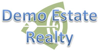 Demo real estate listing agent or property logo.