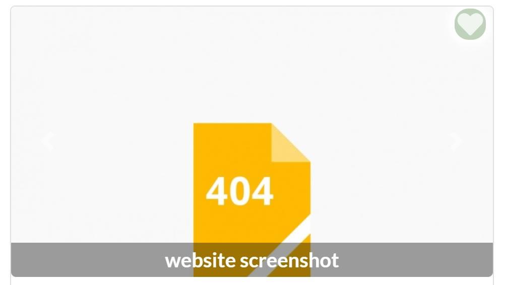 Example of 404 screenshot.