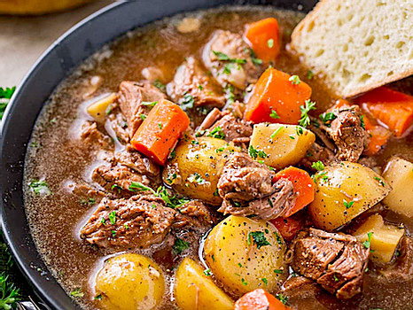 Beef Stew from Just Crock It.