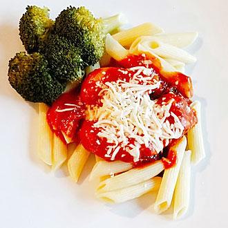 Chicken Parmigiana from Just Crock It.