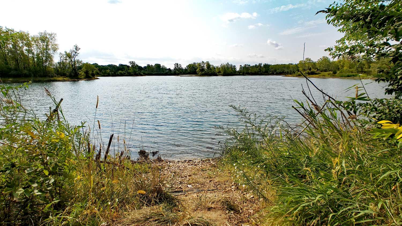 Lake Atwood at The Hollows.